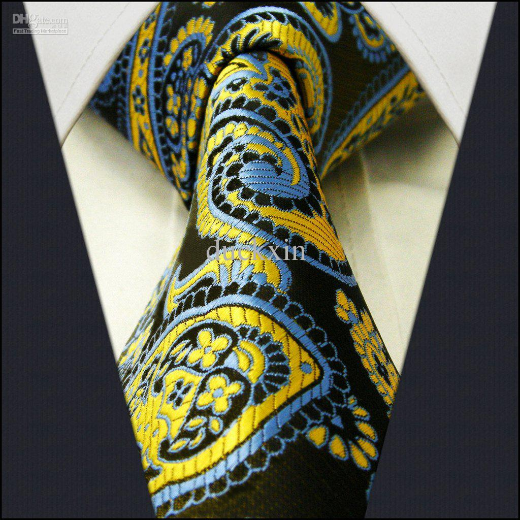 At Ties Planet, we offer a full range of yellow ties for men, in a wide variety of different shades and styles. We stock everything from gold to lemon, neon and amber, to name but a few. We also have a range of contemporary yellow clip on ties, for ease of use and guaranteed panache, no matter how long the occasion lasts.