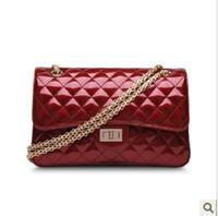Women Plain PU Wholesale - HOT!Free shipping!New designer bag,fashion handbag,ladies' handbag,messenger bags