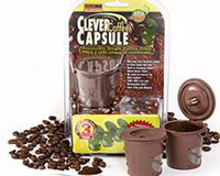 Wholesale 100pcs Clever Coffee Capsule Reuseable Single Coffee Filter BPA Free Kitchen Keepers