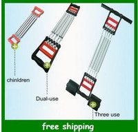 Wholesale New child chest developer Men two use Chest expander three use Wall pulley Exercise