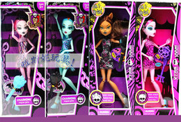 Wholesale 2013 new style Monster High Fashion Dolls set hot sell figures new in box