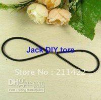 Flower Headbands 1-50piece/lot Free shipping 100pcs lot Elastic Hair Rope for DIY Headband Hair Accessory