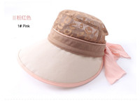 Wholesale Large Brim Sunbonnet Sun Summer Women Dual Hat Disassemblability Sunbonnet