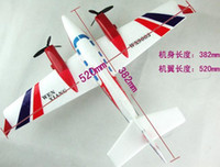 Helicopter Electric 2 Channel 300 meters high WX-9003 52CM EPP plane (the duke) simulation 2CH RC airplane super large glider To