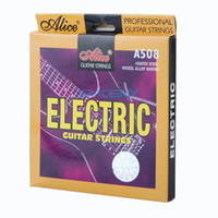 Wholesale Alice A508 L A508L Nickel Alloy Wound Electric Guitar String Set Steel Core NEW