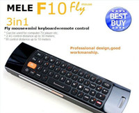 Wholesale Mini Fly Air Mouse Mele F10 GHz Wireless Mouse Keyboard For Mini PC Google Android TV Box Dongle
