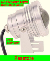 Wholesale 10W LED Underwater Scenery Light Floodlight Outdoor Landscape Warm Cool White Waterproof IP68 V