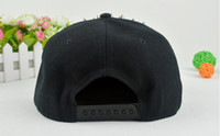 Ball Cap Black Man Hiphop Hats Caps Silver Color Rivets Punk Style Snapback Hiphop 5pcs Lot Free Shipping 130408E5