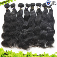Bosin cheap 100% virgin Grade AAAA malaysian hair