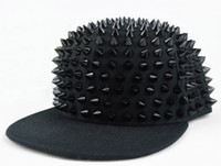 Cheap Black Hiphop Best Yarn Dyed Twill Rivets