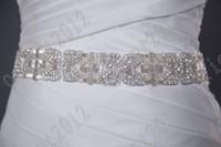 Women best belts selling - 2016 Best Selling Shining Gorgeous Newest Crystals Beaded wedding dress belt bridal dress sashes wedding accessory