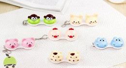 Wholesale Animal Contact Lens Case animal Lenses Box Color Cute Contact lens case Cartoon Glasses