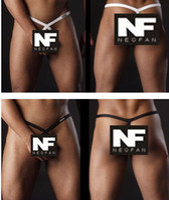G-Strings & T-Back & Thongs Men Cotton 2pcs NEOFAN sexy men's underwear super Shaping G-Strings Mini double Thongs