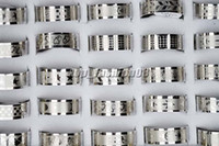 Wholesale 50pcs Stainless steel Mixed Design Men s Rings jewelry mm R158