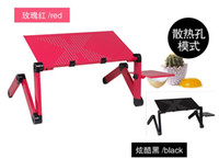 Iron Yes No Foldable Laptop Table Tray Desk Laptop Desk Table Bed Stand Tray ( no fan ) Free Move Folding