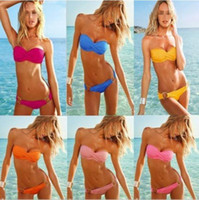 Wholesale Newest boho Sexy Women s Swimsuit padded Secret Bikini Push Up Twist Ladies Bikini Padded Swimwear