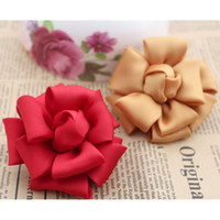Wholesale 20pieces Mixed color DIY flower torx flower corsage hair accessory flower material cm wide