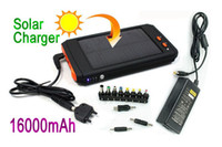 Wholesale 16000mAh Solar Battery Charger Panel for Laptop UMPC PAD mobile PSP mp5 mp4 mp3 camera game player