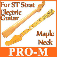 Wholesale Replacement Maple Fingerboard Dot Fret ST Strat Electric Guitar Maple Neck I140 Free Dropshipping