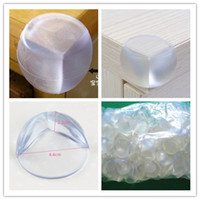 Wholesale Baby spherical table crash safety angle with M double sided with sticker