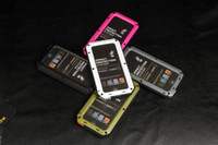 Wholesale Version Lunatik Taktik Strike iphone5 Aluminum Case PC TPU Case cover for iPhone by DHL