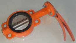 Wholesale China Tianjin factory folder double flange type A LT soft seal butterfly valve