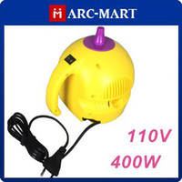 Wholesale 110V W One Nozzle Balloon Inflator Electric Balloon Pump Portable Blower with Retail Package pc
