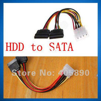 Wholesale HDD IDE to SATA Power Cable Serial Port to Port Adapter Cable