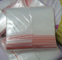 Wholesale Good Ziplock Bag Zipper x13cm Lock Plastic Bags Transparent Bag