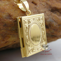 Wholesale 2013 New Arriveal Classic K Gold Plated fashion Muslim Allah books pendant Freeshipping