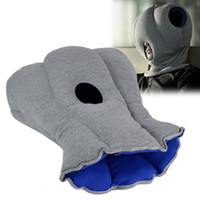 Wholesale 10 Portable Ostrich Pillow Neck Protection Warmer Soft Travel Office Pillow