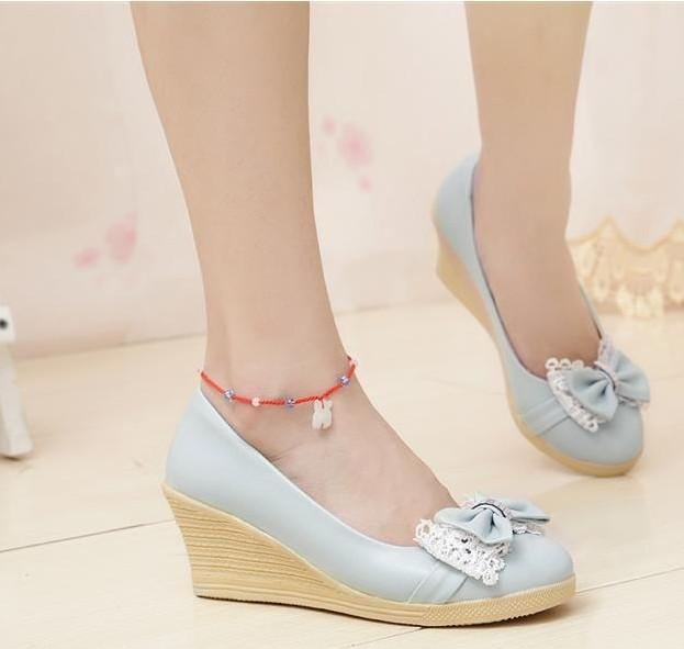 Cheap Women s Wedge Casual Shoes ladies dress shoes evening dress