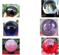 Wholesale 6 Kinds ASIAN QUARTZ Crystal Ball Sphere MM stand