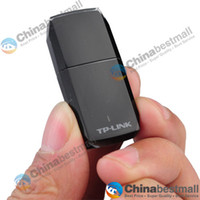 Wholesale TP LINK TL WN823N Mbps Mini Wireless USB Network Card Built in Double Aerial Adapter