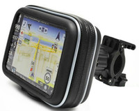 Wholesale New SATNAV Waterproof GPS Case with Cycle Mount Holder for Motorcycle Bike