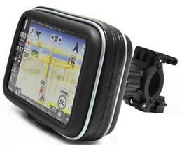 Wholesale New SATNAV Waterproof GPS Case with Cycle Mount Holder for Motorcycle Bike