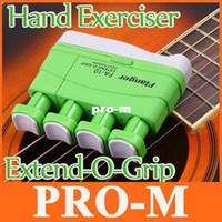 Wholesale Portable Green Light Tension Guitar Extend O Grip Hand Exerciser I91