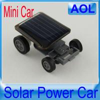 Wholesale Mini solar car World s smallest solar car Solar toys Novelty toys