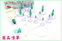 Wholesale 12 Body Cupping Set Magnets Point Therapy Cupping Chinese Medicine