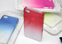 Wholesale 3D Water Drop Dripping Thin Hard Case Cover For iPhone S Ten kinds of color