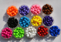 Wholesale 10 OFF NEW FASHION CHEAP SALE DIY jewelry MM Round Acrylic Beads Resin beads Candy beads loose beads