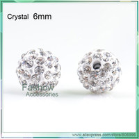 Wholesale A21406 shamballa beads popular for jewelry crystal beads mm Crystal CPAM free good quali