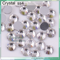 Yes hot-fix for rhinestone - A20017 Non hot fix Nail art rhinestones ss4 Crystal CPAM free bag good quality Use for Bags