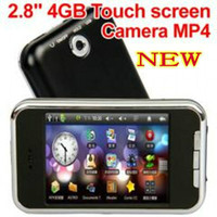 Wholesale NEW quot LCD Touch Screen GB MP3 MP4 Player FM M Camera Game