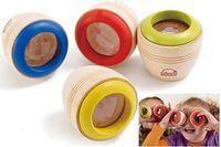 Wholesale Hot sale Magic Children Child Baby Kid Cute Wooden Kaleidoscope Wood Toy