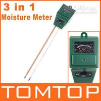 Wholesale 12pcs in Light Luxmeter amp PH Meter Garden Soil Moisture Tester H1970