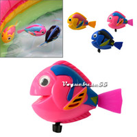 flounder fish - Little Swimming Mermaid Flounder Fish Bath Pool Water Plastic Figure Toy New