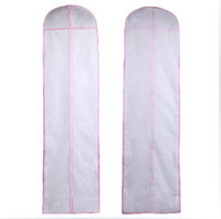 Wholesale Cheap Bridal Wedding Dress Gown Garment Storage Bag Cover New Length CM