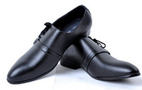 Wholesale 2013 NEW Pure color man cusp Breathe freely Leather shoes Business dress shoes Single shoes JK05