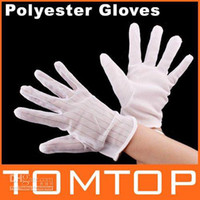 Wholesale Anti static Anti skid Polyester Gloves ESD PC Computer Working H1829